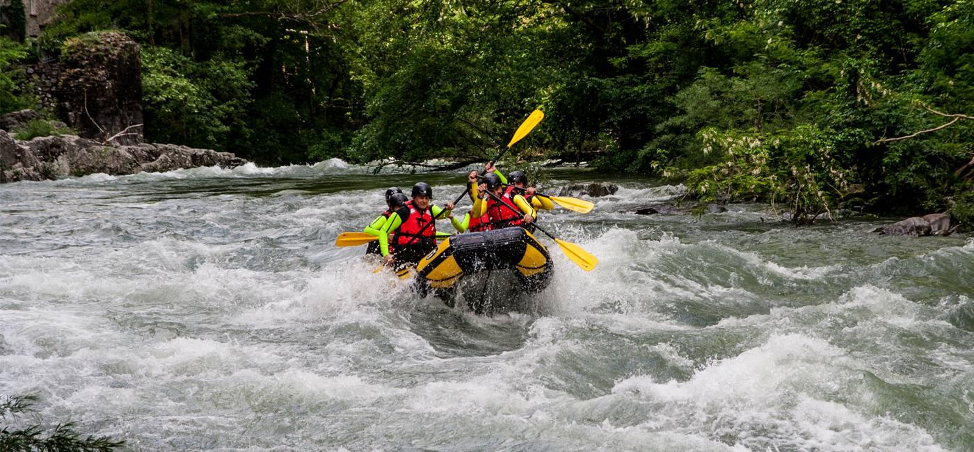 Garfagnana Rafting | Base Garfagnana Rafting